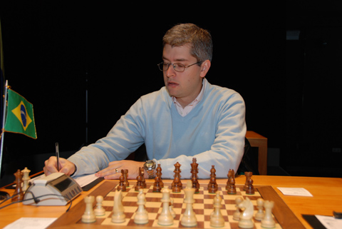 Giovanni Vescovi joga xadrez desde 1987 e já participou de mais de 20 campeonatos mundiais. Foto: www.chessbase.com