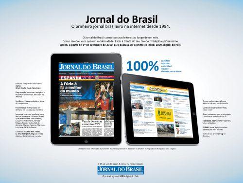 O JB será 100% digital a partir de setembro de 2010. Mas em seus 119 anos na versão impressa foi local de trabalho e de estudo de centenas de jornalistas, fotojornalistas e diagramadores, além de profissionais autônomos como os que se dedicam ao jornalismo freelance. Foto: oglobo.globo.com