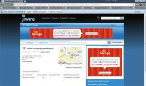 O JiWire serve 20 milhões de usuários únicos por mês