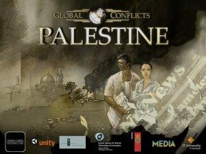 """O """"Global Conflicts: Palestine"""" simula a prática do jornalismo freelance num ambiente conflituoso. Foto: unidev.com.br"""