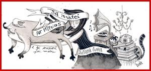 """Ilustração do blog """"Já matei por menos e já escrevi por mais"""" da jornalista Juliana Cunha"""